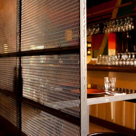 restaurant Divider far by Steel & Smith