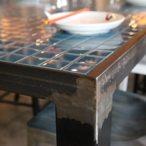 Gin Long restaurant table close by Steel & Smith